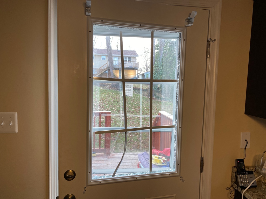 Commercial Glass Window Repair Safety Tempered Entrance